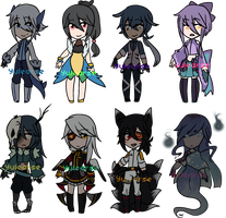Mixed Adopt Batch [ 2/8 OPEN ] by Yulearse