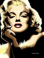 Marilyn Monroe 2 by gadget1998