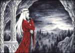 Balcony with a view on Erebor by Candra