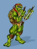 Raphael color by Romax25