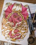 Imperial Dragon Ornament by Feivelyn