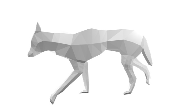 Low Poly Dingo 3D model by BaileyisDarcy