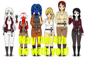 Happy May the 4th by PumpkinLOL