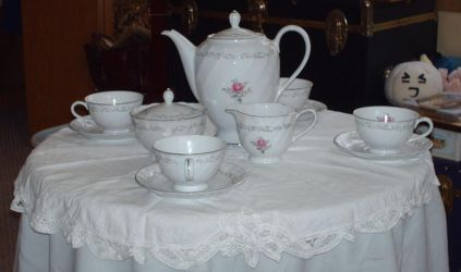New Room - Tea set by Yamano-wolfie
