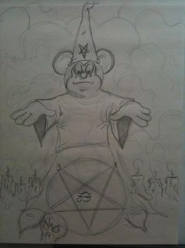 Satanic Mickey by pharmdown