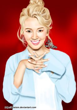 Hyoyeon Digital Painting 54 by BoAism