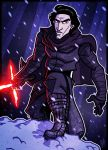 7 of 9 - Kylo Ren by JoeHoganArt