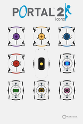 Aperture Laboratories Icon Set by VaIisk