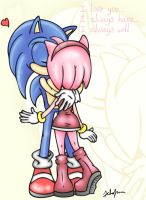 SonAmy: Always Will by Dark-Jessa