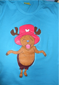 Camisa de Chopper, One Piece by zumbibs
