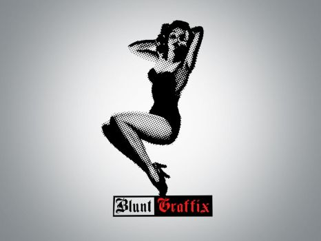Blunt Pin Up by bluntgraffix