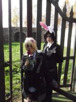 Claude and Alois in Wonderland by Liliane197