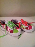 first day of kindergarten custom kicks by manicimages