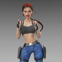 Classic Raider 184 by tombraider4ever