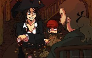 Chapter 1: Pirate Business by akintak