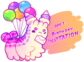 [Closed] HBDAY 1 Auction: Invitation by toripng