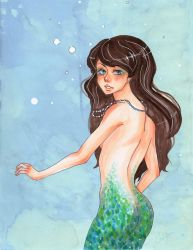Sea Maiden by Pandepon