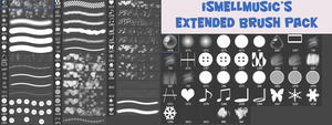 iSmellMusic's Extended Brush Pack by iSmellMusic