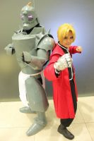 Elric Brothers by steamingbeefsteak
