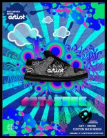 ART+SHOE Poster by jhasson