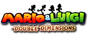 Mario and Luigi: Double Dimensions Logo by Fawfulthegreat64