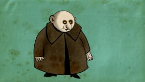 Old school uncle Fester by Makinita