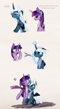 Not so royal by MagnaLuna