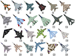 Military Jet Cursors by Kryptid