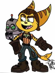 Ratchet and Clank by SuperBails2016