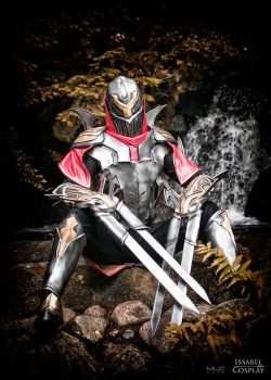 Zed Cosplay by IssabelCosplay