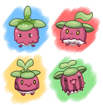 PokeVariant Contest #16: Bounsweet by Jakzketch