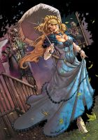 Zenescope Enterteinment GFT ZOMBIES CURSED #1 B by Yleniadn86