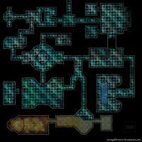 Crypt of the forgotten god battlemap for roll20 by SavingThrower
