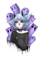 Kitty Ghost by XxMovedxX