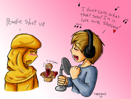 For PewDiePie - I'm in love with Stephano by WigglyWolf