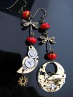 the steampunk Moon and Sun by Verope