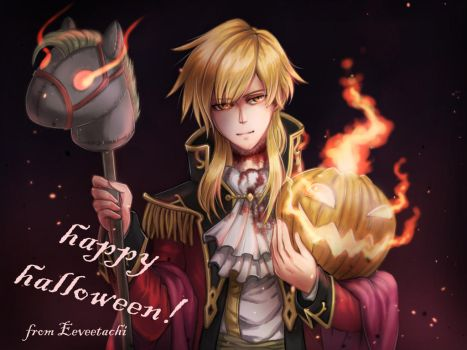 Happy Halloween 2017 by Eeveetachi