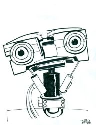 Johnny5 by tedbergeron