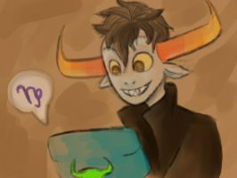 Tavros: Rap with TC. by LadyWaflles
