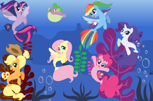 Seaponies of the sea by user15432