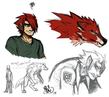 TrevorSketches Oct'15 by spookydoom