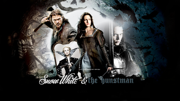Snow White and the Hustman _ CAST by forr-yoouu
