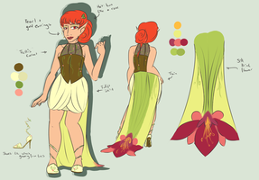 Contest: Chara's Gown by drazzi