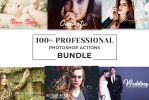 100 Free Professional Photoshop Actions Bundle by symufa