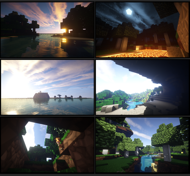 Some Nice Minecraft Screenshots by GHushpuppy
