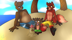 A Day At The Beach by Atomic52