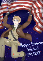 Happy Birthday America! 2018 by MysterionRises6
