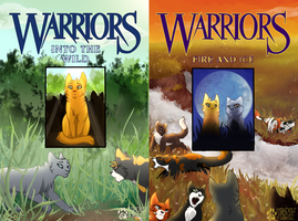 Redrawn Warrior Covers 1-2 by shadowily
