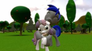 Sweetie Belle and ED+ #4 by EDplus