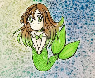 Chibi Prize: Mermaid Mia by Magical-Mama